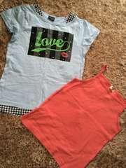 半袖Tシャツ キャミールセット 150センチ