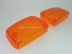H1 HONDA CBX400F 純正タイプ ウインカー レンズ オレンジ