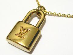 ルイ.ヴィトン.シンボルLVロゴ鍵ミニパドロック世界NO1ブランド高貴で洒落たネックレス