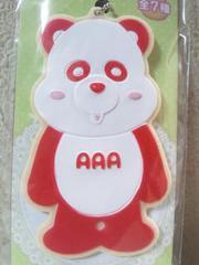 AAA え〜パンダアイシングクッキーマスコット赤(伊藤千晃)