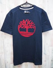 Timberland ティンバーランド 半袖Tシャツ L 紺赤/TB08466J