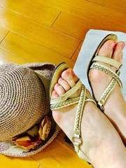 セリーヌ サンダル と 帽子セット