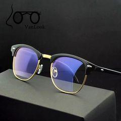 サーモント メガネ ブルーライトカット 伊達眼鏡 PC用メガネ 黒