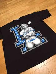 LA直輸入Marilyn&MLBーDodgers サイズ2XLXXL Tシャツ黒z?