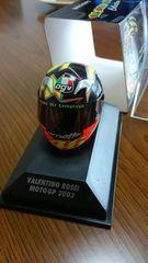 1/8サイズ ミニチャンプス製品 バレンチノ ロッシ ヘルメットMOTOGP2003 未使用 新品