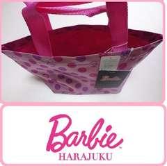 新品バービーピンクランチバッグ トートバッグ Barbie