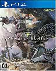 新品 未開封 PS4 モンスターハンターワールド