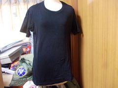 ユニクロTシャツ黒L新品(5)