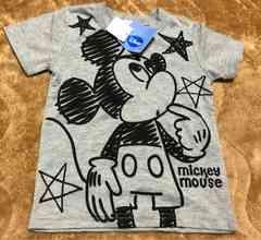 新品タグ付☆ミッキー半袖Tシャツ