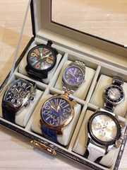 【新品】人気メンズ腕時計6本セット♪箱付き★インテリアにも