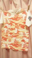 新品◆迷彩&ドクロ◆半袖Tシャツ120◆3465円の品