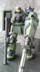 改造 ザク II ガドリング 塗装済み完成品 1/100 MG コンバージ