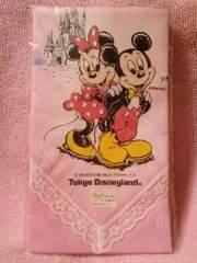 DisneyTDLミッキー・ミニーハンカチ