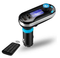 後部席からも操作可能!Bluetooth トランスミッター