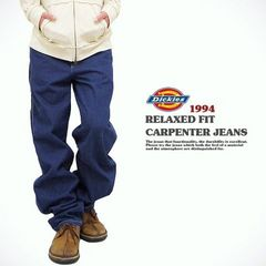 ad0169bbsm■Dickies Relaxed Fit Carpenter Jean (1994) 38青