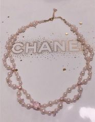 定価2,376円【新品】ジュエリービジュー&パールネックレス Pink