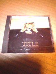CD,ストレイテナー TITLE 帯あり