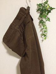 clip.tab 定価12,000円ワイドパンツ 日本製ブラウン