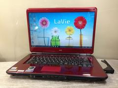 人気の赤いNEC Lavie ブルーレイ Win10