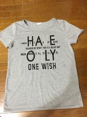 グレーロゴ Tシャツ LL 新品
