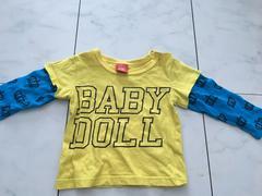 BABY DOLL長袖Tシャツ★80cm