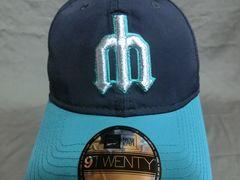 NEWERA 9TWENTY MLBシアトルマリナーズ レトロ ロゴCAP
