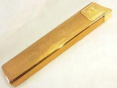 4252/MCMエムシーエム高級感漂う素敵なスリムガスライター★目立つゴールドカラー
