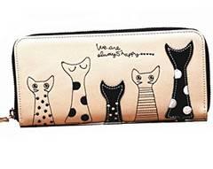 猫 長財布 ニャンとも かわいい 財布