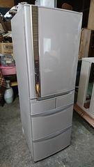 日立 13年式 R-S420CM 415L 冷蔵庫 6ドア 冷蔵庫