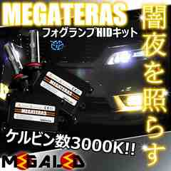 Mオク】アコードCU1/2系/フォグランプHIDキット/H11/3000K