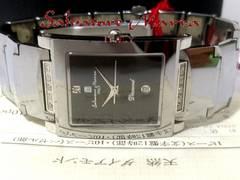 識別書有 極美★1スタ★サルバトーレマーラ【天然ダイア】腕時計