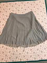 新品同様 大きなサイズ ミントブリーズ プリーツスカート 17号