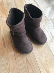 キッズ 子供 こども ブーツ 靴 シューズ 茶色 ブラウン 18�p