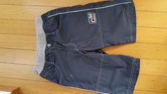 黒系の半ズボン【140�a】