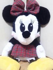 アミパラ限定ミニーマウススーパージャンボぬいぐるみ(超特大)90�p
