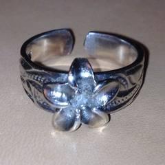 ハワイアンジュエリーtoeリング足用指輪シルバー925