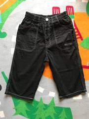 ブラック 半ズボン 160�a 新品未使用