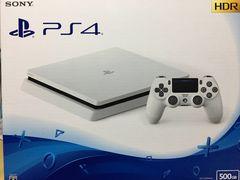 新品 PS4  500GB CUH-2200A ホワイト 即決 送料込
