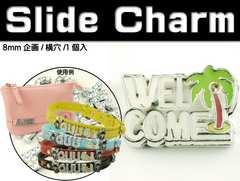 WELCOMEスライドチャームパーツAdc9548