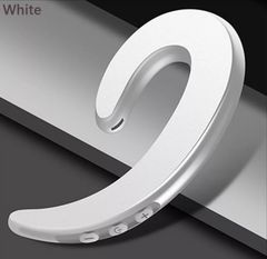 Bluetooth対応 ワイヤレス耳掛けイヤホンカラー/ホワイト