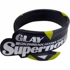 GLAY ワイヤーレザーブレス