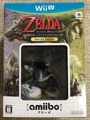 ゼルダの伝説 トワイライトプリンセスHD 限定版 新品未開封 WiiU