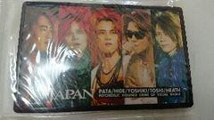新品 未開封 X JAPAN ミラー 手鏡 YOSHIKI hide ToshI