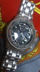 セントジョイナスクロノグラフビンテージクラッシックサブマリーナダイバーウォッチ風腕時計