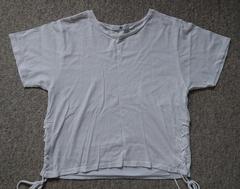 ♪SLY白サイド編み上げTシャツ♪2