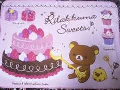 Rilakkuma/リラックマSweets&Sweets フリースブランケット140×102�p