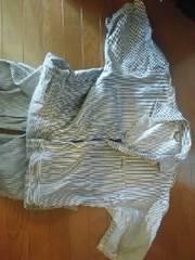 オシュコシュ 半袖ツナギ XL フィッシャーマンストライプ 美品