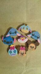ディズニーミニ消しゴム 8個セット�@ 未使用 ミニーマウス ミッキーマウス、等 Disney