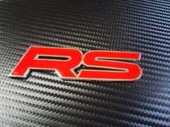 ● RACING SPORT レーシングスポーツ メタル製エンブレム RED!