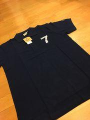 ocean pacific 半袖カノコポロシャツ  sizeL位  紺ネービー  オーシャンパシフイック